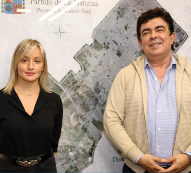 Se reunieron Fernando Espinoza y Pamela Loisi, concejala de Juntos por el Cambio en La Matanza
