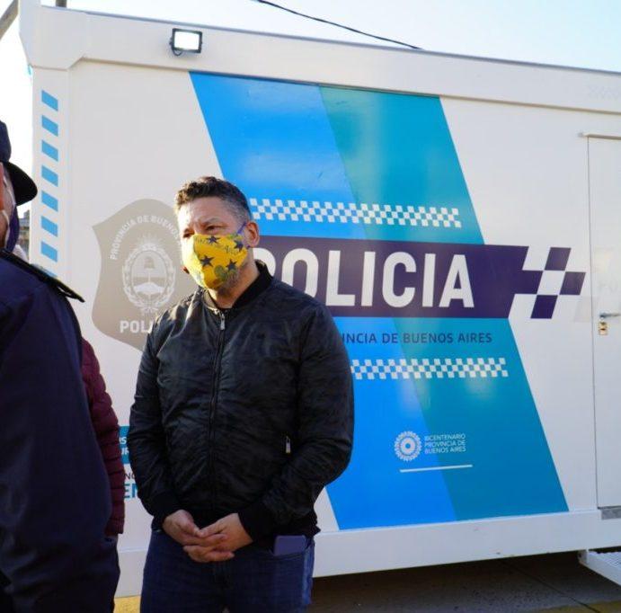 Colocan nuevo Puesto de Avanzada y Control Policial en San Antonio de Padua
