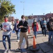 El programa nacional «El barrio cuida al barrio» comenzó en Morón con la presencia de Ghi en la jornada de prevención del barrio Carlos Gardel