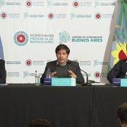"""Kicillof anuncia el pase a planta permanente de 2500 trabajadores estatales de la Provincia: """"Hoy venimos a dar certezas en un contexto de incertidumbre"""""""