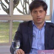 Anuncio oficial de Fernández, Larreta y Kicillof. El gobernador remarcó: «El AMBA es una sola región sanitaria, por eso no hay forma de que nos dividan y hagan pelear»