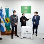 Inauguran el primer laboratorio municipal para realizar test de coronavirus en Esteban Echeverría