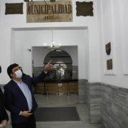 Espinoza recibió a Alak para acelerar las obras de la Ciudad Judicial en La Matanza