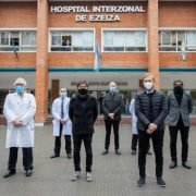 Kicillof visitó en Ezeiza el laboratorio del Hospital Eurnekian que adquirió nuevos equipos a través de Provincia Leasing