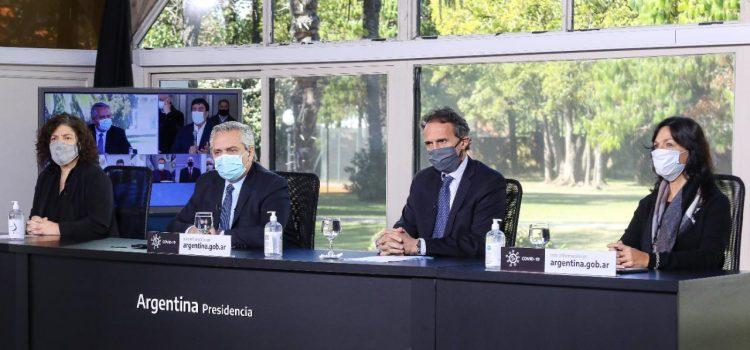 Coronavirus: El Presidente participó de la apertura de hospitales en La Matanza, Mar del Plata, Chaco, Santa Fe y Córdoba