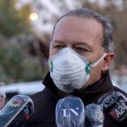 El ministro de Seguridad bonaerense Sergio Berni decidió aislarse tras haber mantenido contacto estrecho con un colaborador con Covid-19
