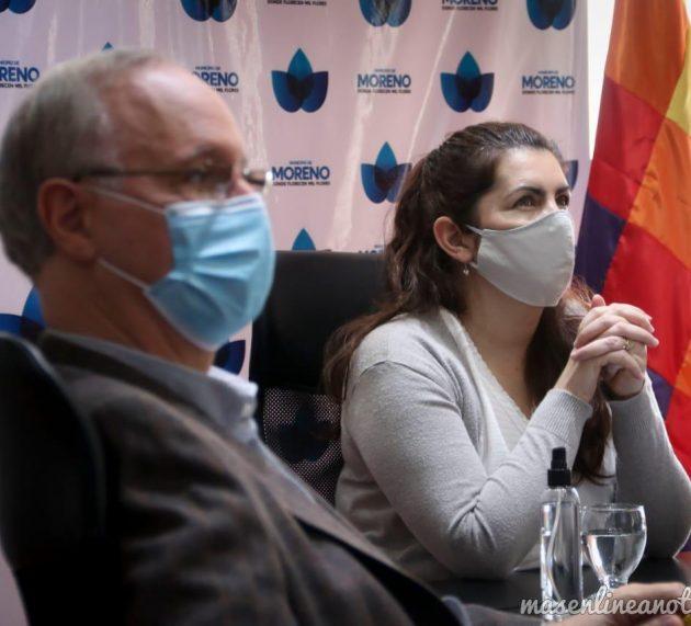 El ministro de Salud bonaerense Daniel Gollán participó en Moreno  de una reunión del Comité de Emergencias local