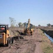 Nuevas obras de saneamiento del ACUMAR en arroyos de ocho municipios del Conurbano