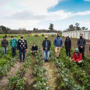 Ministros Rodríguez y Larroque y el intendente de Luján presentaron líneas de financiamiento a productores agroecológicos