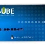 SUBE: suspenden las tarjetas de trabajadores no exceptuados en el AMBA