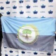 En el 156 aniversario de la Fundación de Moreno, su intendenta Mariel Fernández presentó formalmente la Bandera del Municipio