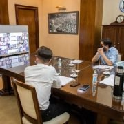 Lucas Ghi y Kicillof firmaron la creación de un Fondo de Infraestructura para Morón