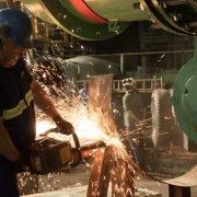 AySA en Morón: Finalizaron los trabajos de instalación del colector principal de la Estación Elevadora para optimizar el servicio de agua en la zona oeste