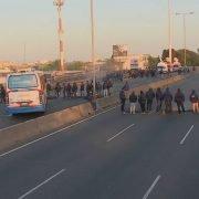 Protestas de colectiveros por el crimen de Pablo Flores; la UTA respalda con un paro en Zona Oeste