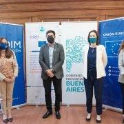 La Unión Europea donó insumos médicos para hospitales bonaerenses, entre ellos el Balestrini