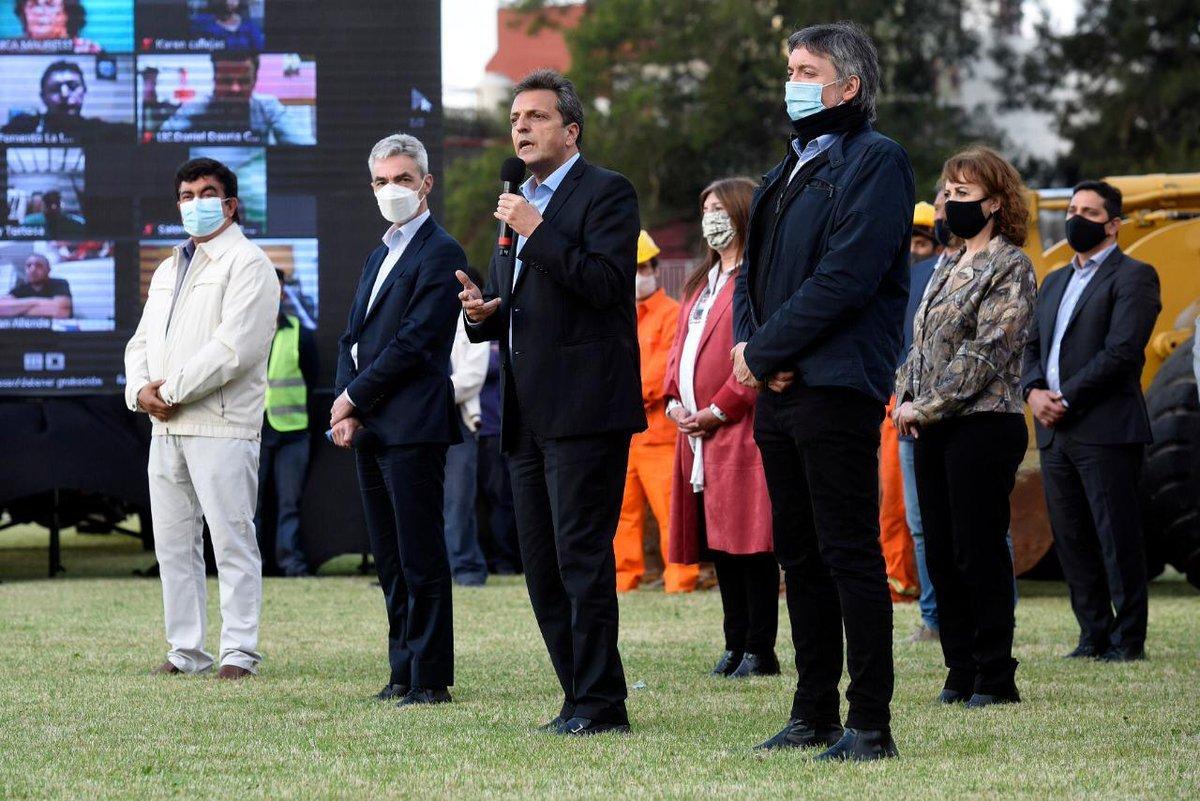 Meoni, Massa, Kirchner y Espinoza