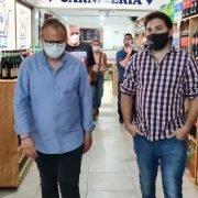 El supermercado de Brancatelli «Don Ahorro» abrió ya en Tres de Febrero, con la presencia del Intendente Valenzuela
