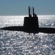 Homenaje a los tripulantes del ARA San Juan, en un acto encabezado por el ministro de Defensa, Agustín Rossi