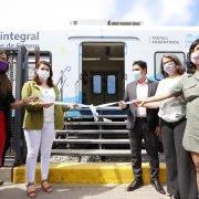 Moreno abrió una sede de asistencia para víctimas de violencia de género