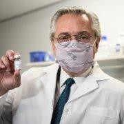 Alberto Fernández recorrió el campus de la UNSAM, donde se desarrolla el suero equino hiperinmune anti Covid-19