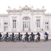 Mariel Fernández: «Es una alegría poder entregar las primeras 20 motos que se compraron a través del Plan de Fortalecimiento de Seguridad»