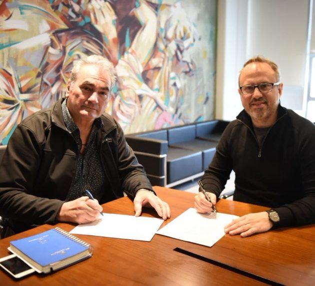 Diego Valenzuela y Ariel Collia acordaron los nuevos aumentos salariales para los municipales de Tres de Febrero