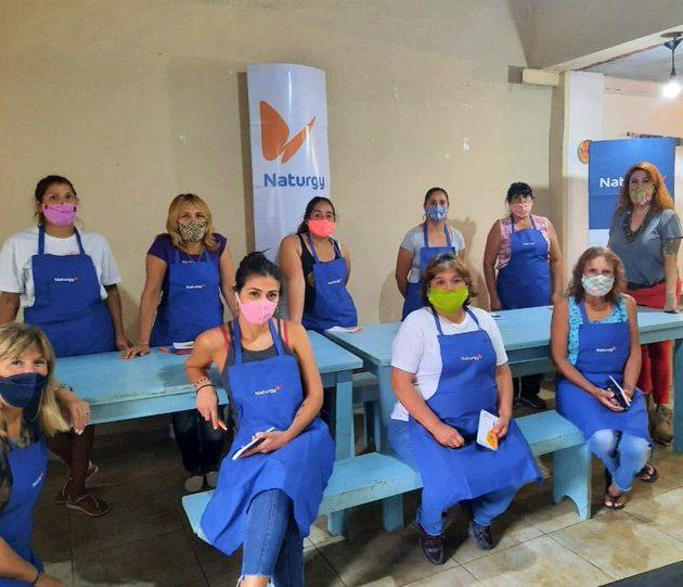 Naturgy, a través de su programa de inclusión social «Energía del Sabor», trabajará en barrios de San Isidro y Moreno